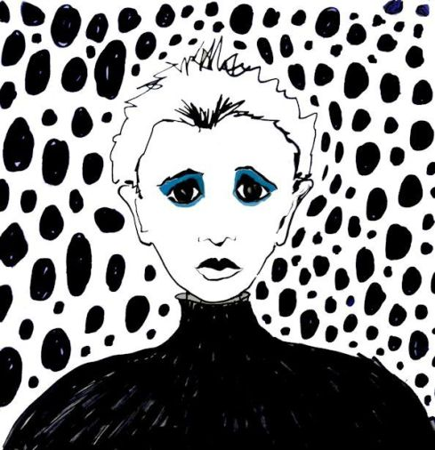 Sad Sally by Sarah Curtiss, see more of Sarah's art & books at graceartgroup.com