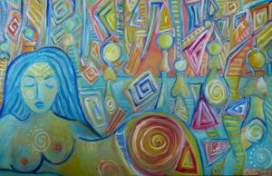 Meditation by Sarah Curtiss see more of her art at graceartgroup.com