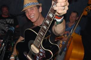 Robert Cassidy on guitar